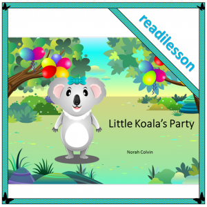 Little Koala's party - a story for problem-solving