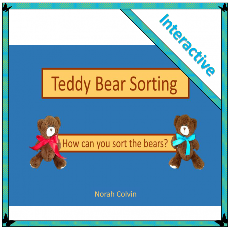 an open-ended interactive activity involving children in sorting teddy bears