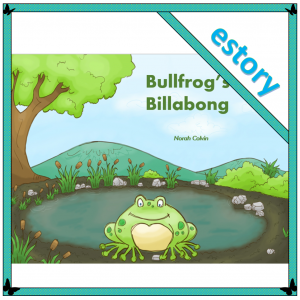Bullfrog's Billabong - a repetitive, cumulative story that introduces maths concepts of counting and days of the week