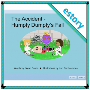 the accident Humpty Dumpty story
