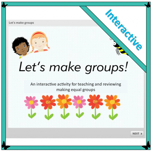 Let's make groups