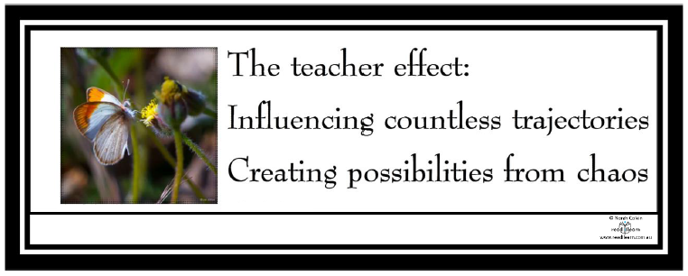 the teacher effect bookmark to download and print free