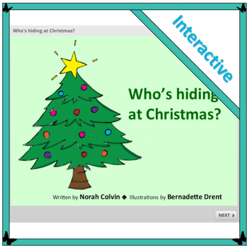 who's hiding at Christmas an interactive Christmas story