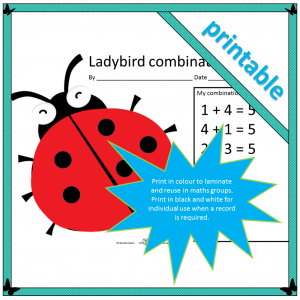 ladybird combinations cover