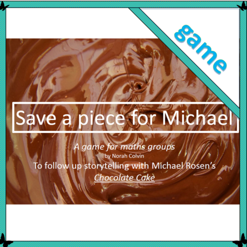 Save a piece for Michael – maths game