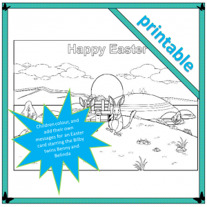 A Happy Easter Card from the Bilbies