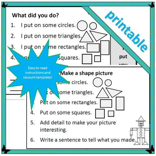 Make a shape picture