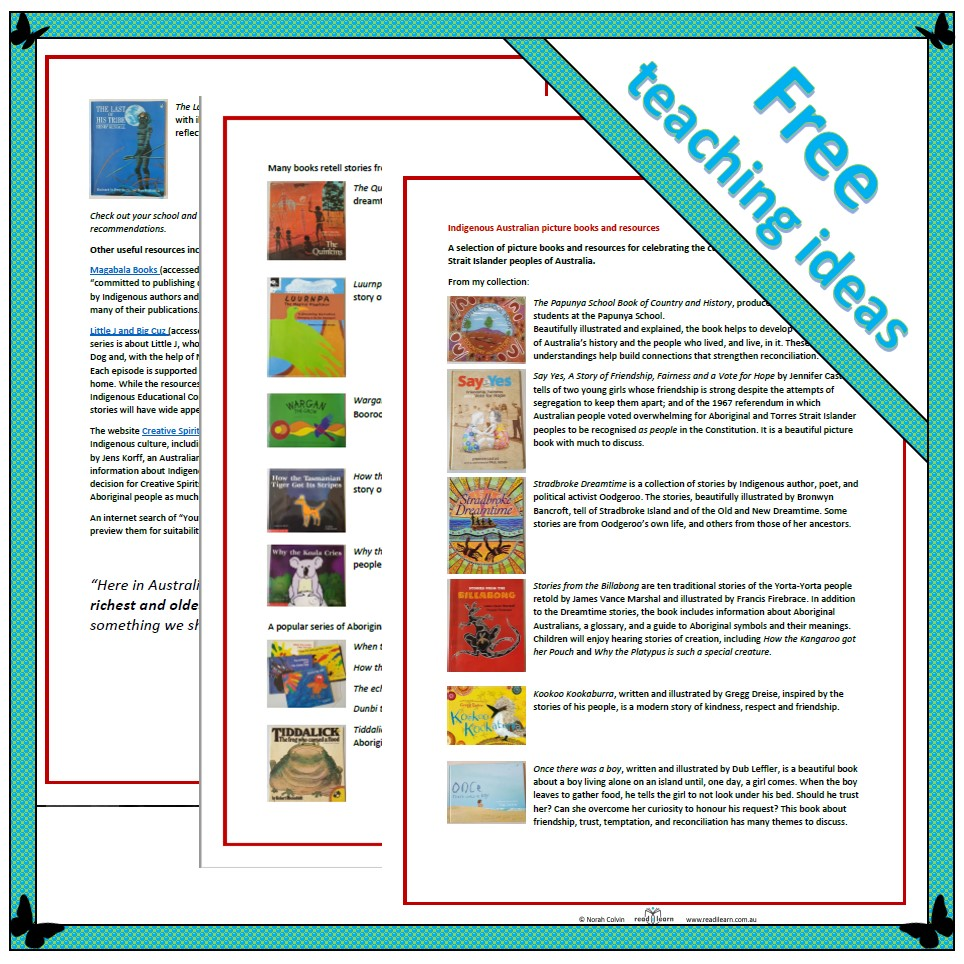 image regarding Who Was Book Series Printable List identify Native Australian visualize guides and components - Readilearn