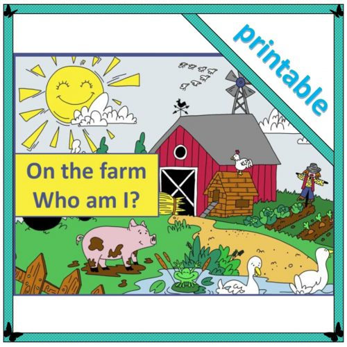 On the farm Who am I? – booklet