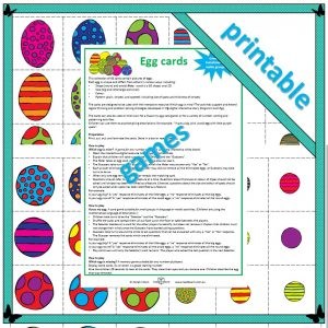 egg cards for maths learning in the first three years of school