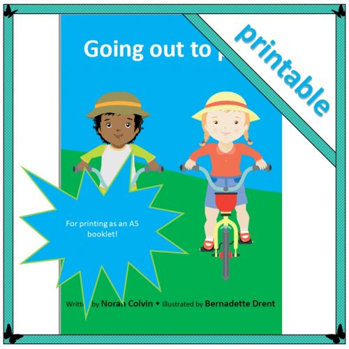 Going out to play – small booklet