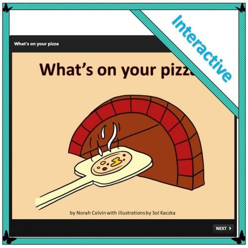 What's on your pizza?