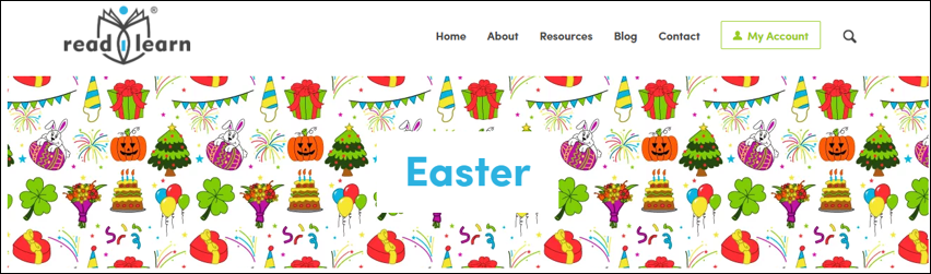 early childhood teaching resources with Easter theme including lessons for the interactive white board, games, stories, printables and more
