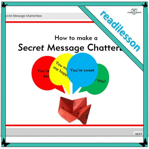 Secret message chatterbox is a fun activity to engage children in reading to follow instructions. When made, they write their secret messages to share with friends and family.