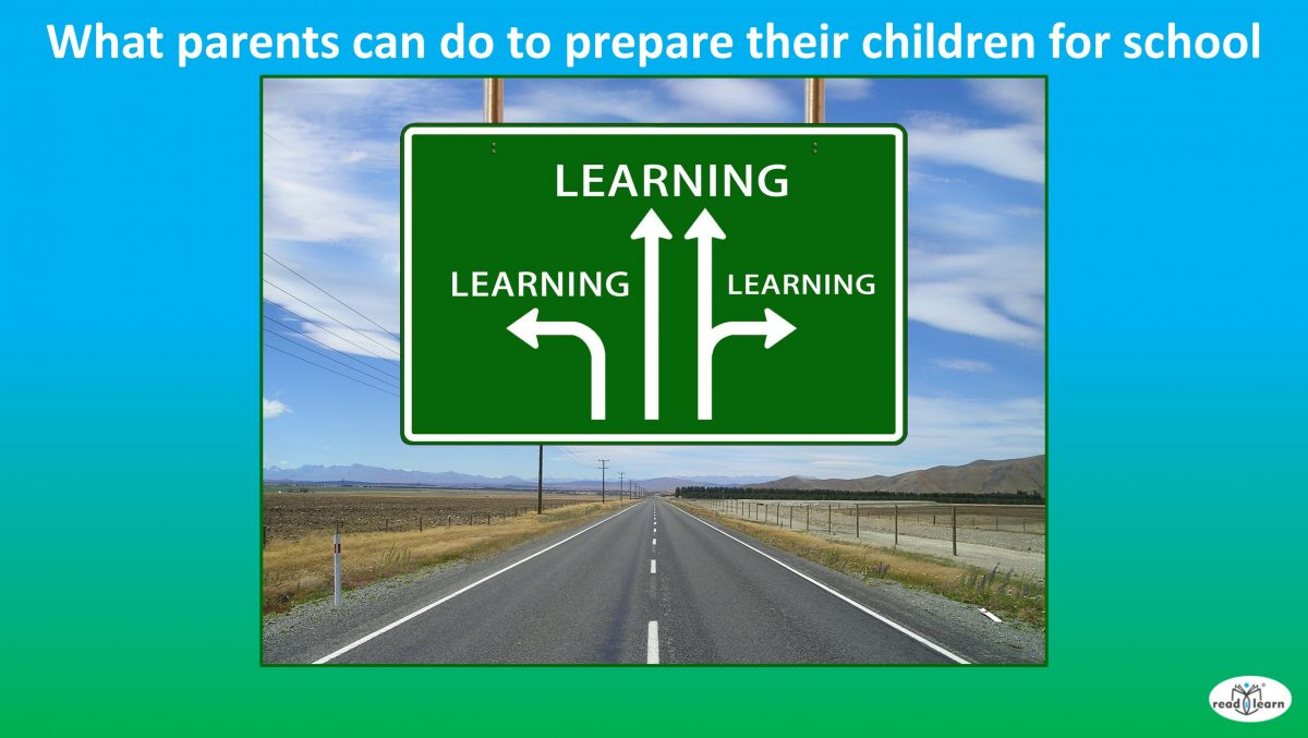 what parents can do to prepare their children for school