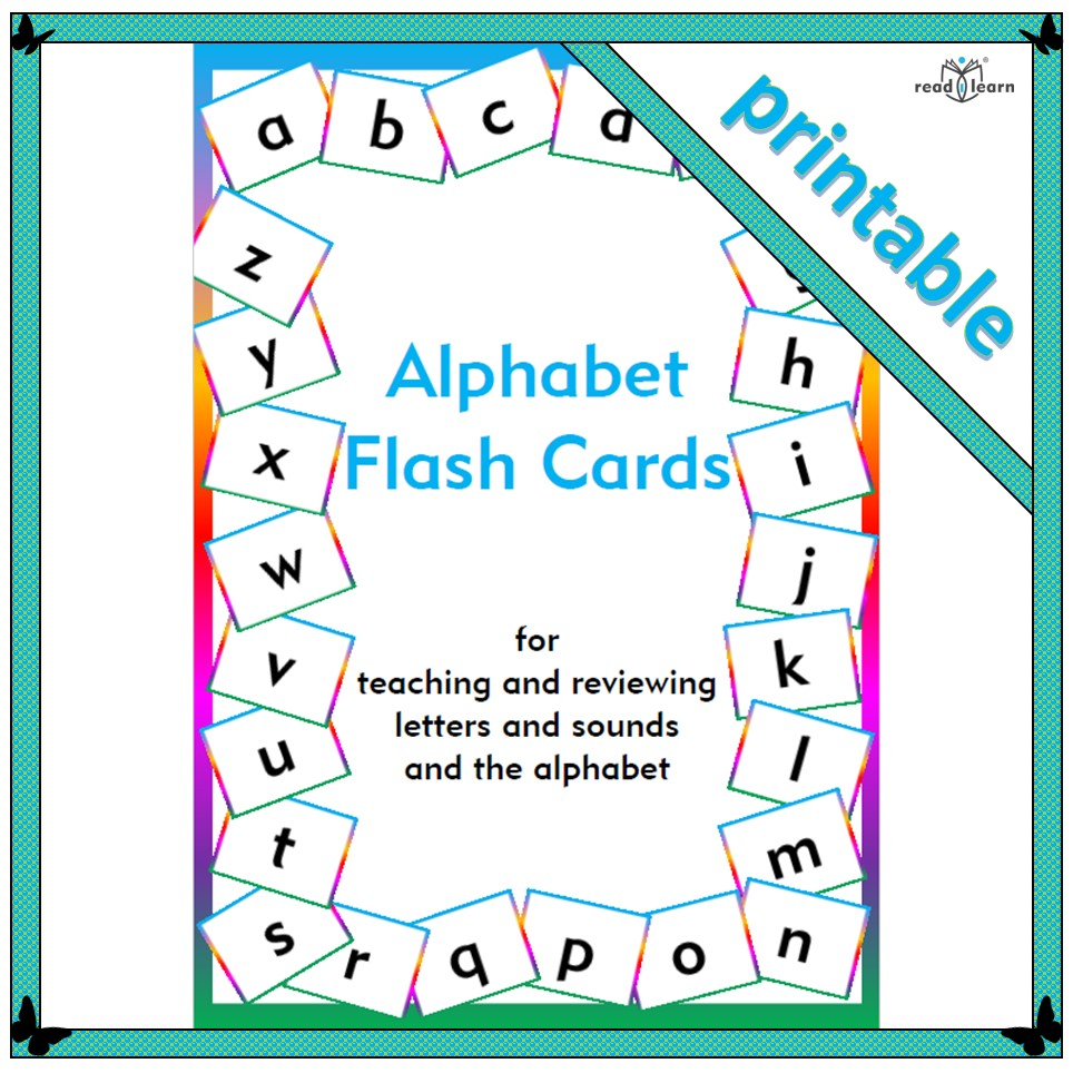 photograph about Printable Alphabet Flash Cards called Alphabet flash playing cards