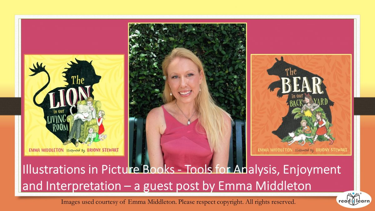 Emma Middleton picture book author and illustrator discusses the importance of illustrations in picture books