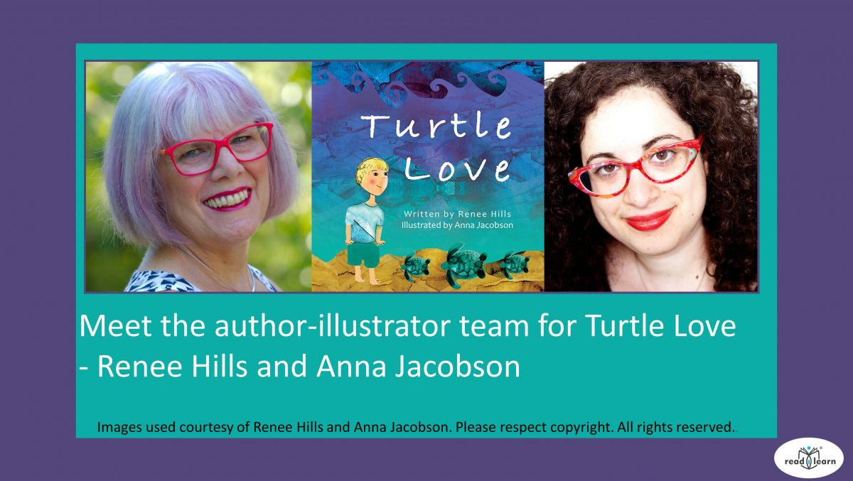 Turtle Love by Renee Hills and Anna Jacobson