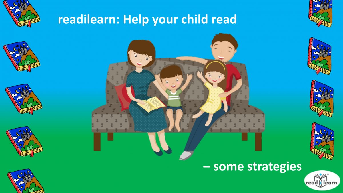 Help your child read - some strategies