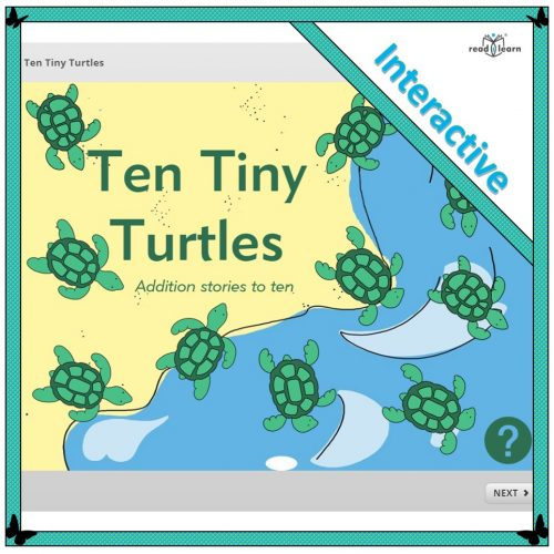 Ten Tiny Turtles – Interactive