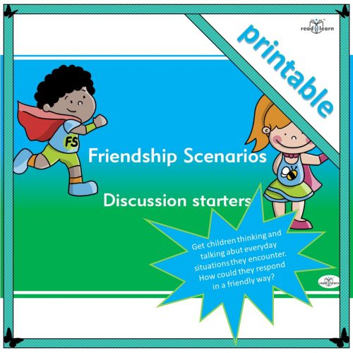 Friendship Scenarios – Discussion starters