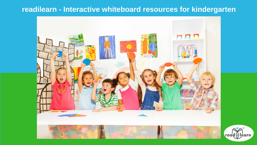 interactive whiteboard teaching resources for kindergarten