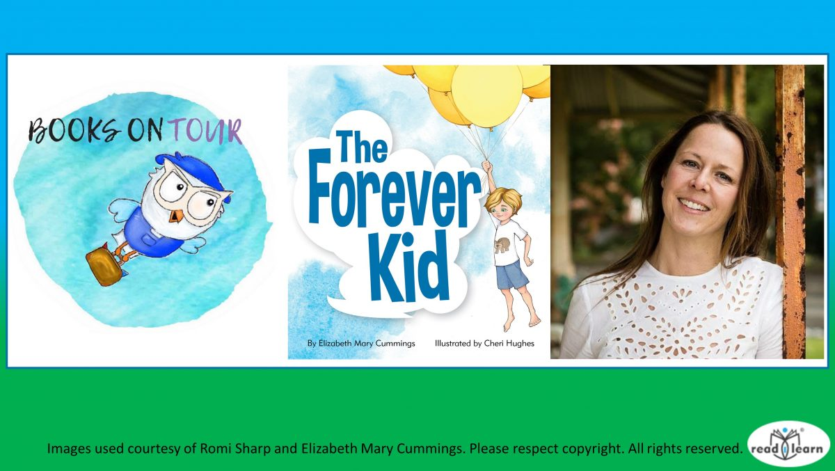 Books on Tour feature Elizabeth Mary Cummings The Forever Kid