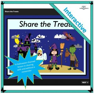 an interactive lesson in sharing for lower primary