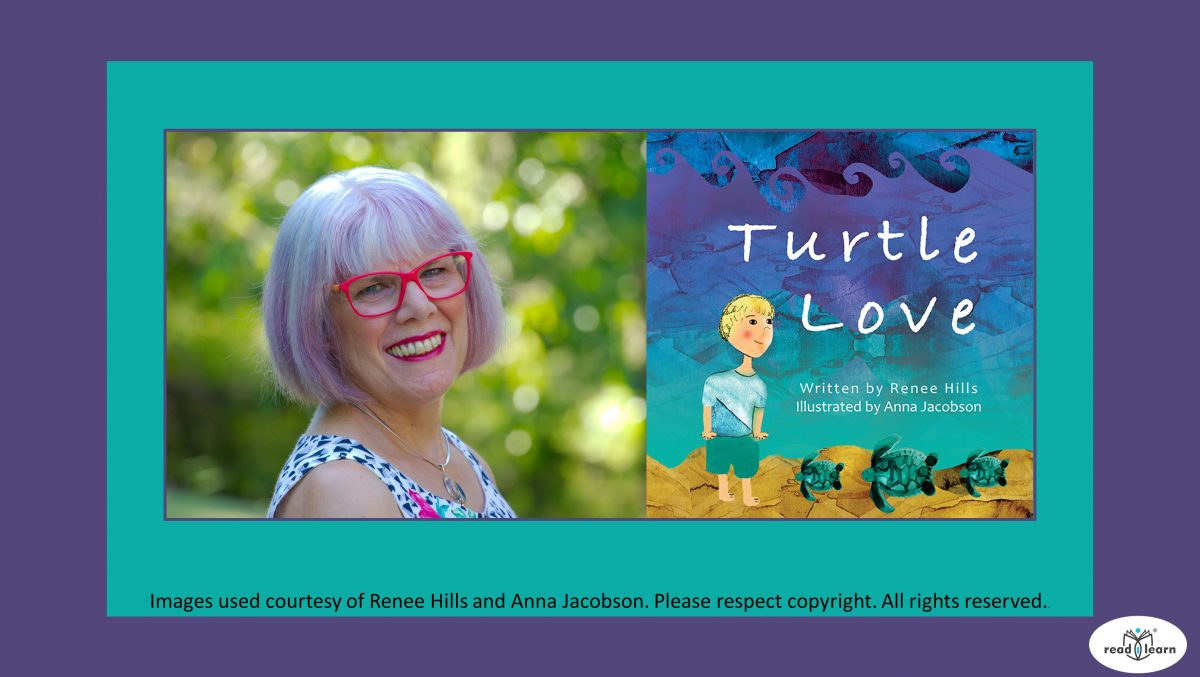 readilearn interview with Renee Hills author of Turtle Love