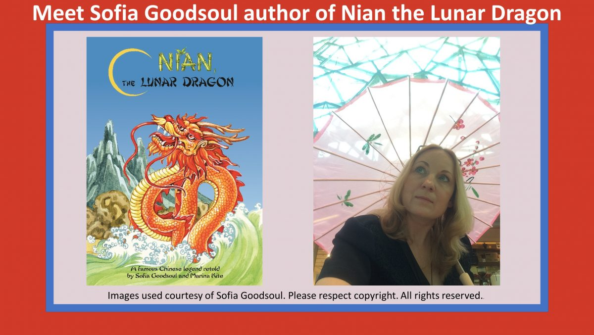 readilearn Interview with Sofia Goodsoul author of Nian the Lunar Dragon