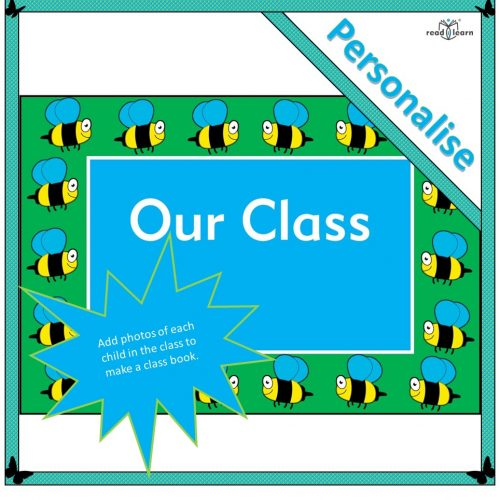 our class a photo book to personalise to print