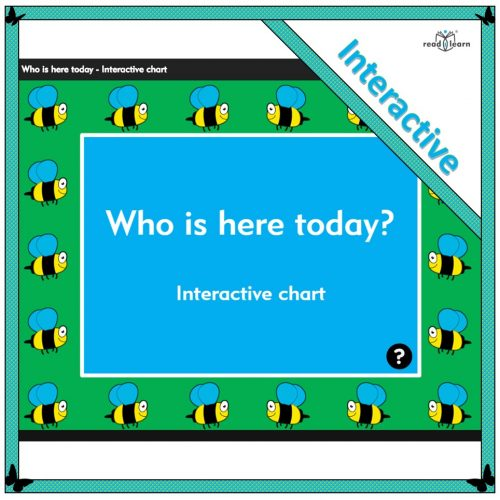 Who is here today? Interactive chart