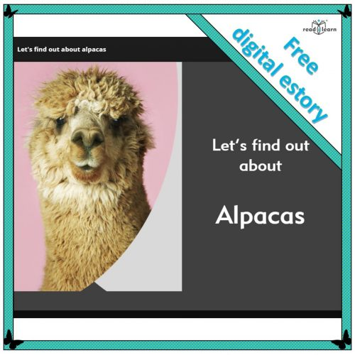 non-fiction digital non-fiction text about alpacas