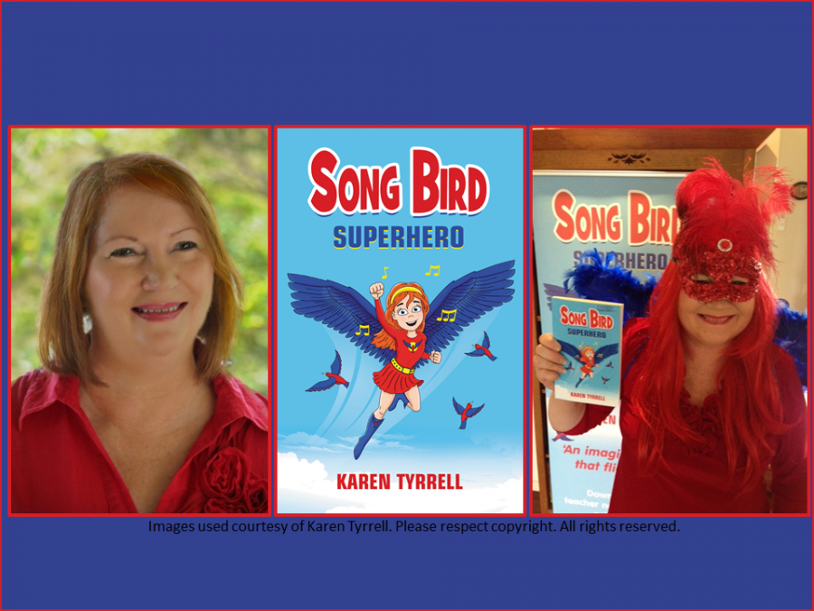 Karen Tyrrell Song Bird Superhero