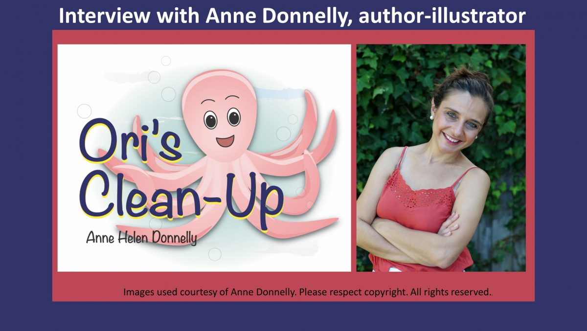 Interview with Anne Donnelly, author-illustrator