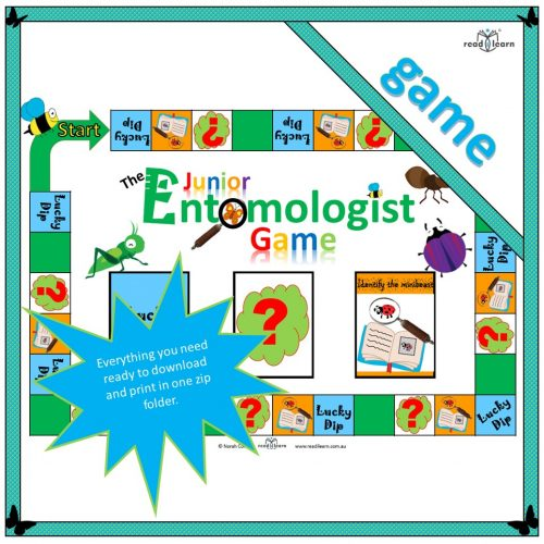 The Junior Entomologist Game