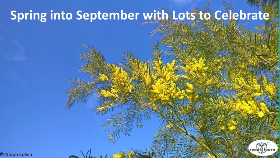Spring into September with lots to celebrate