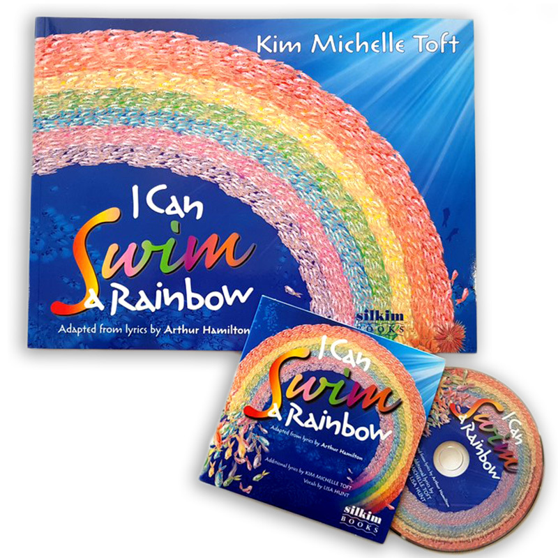 I Can Swim A Rainbow cover and CD (c) Kim Michelle Toft