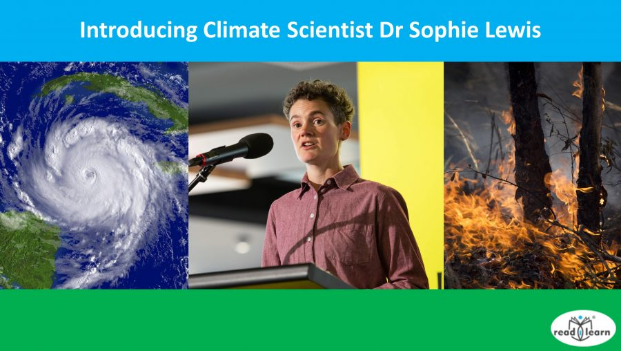 Introducing climate scientist Dr Sophie Lewis
