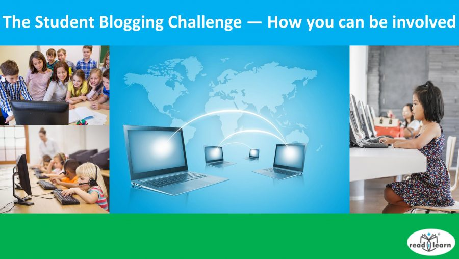 The Student Blogging Challenge - how you can be involved