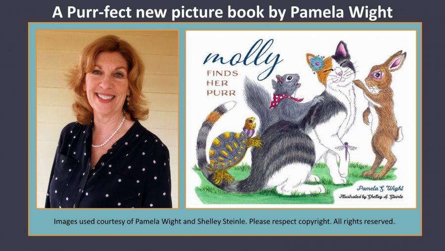 A Purr-fect new picture book by Pamela Wight