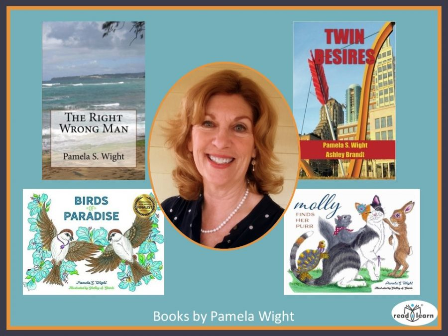 Pamela Wight and her books
