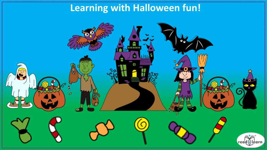 Learning with Halloween fun