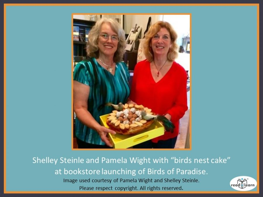 Pamela Wight, author and Shelley Steinle, illustrator