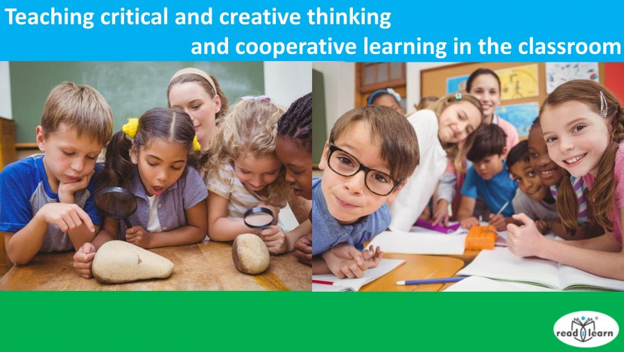 Teaching critical and creative thinking and cooperative learning
