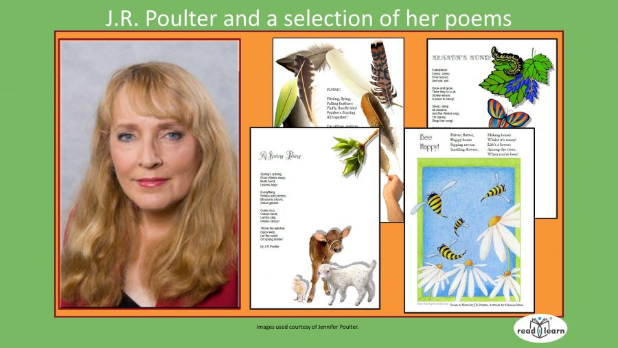 Jennifer Poulter and poems