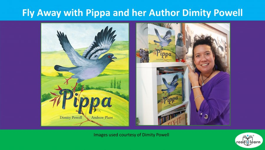 Fly away with Pippa and her author Dimity Powell