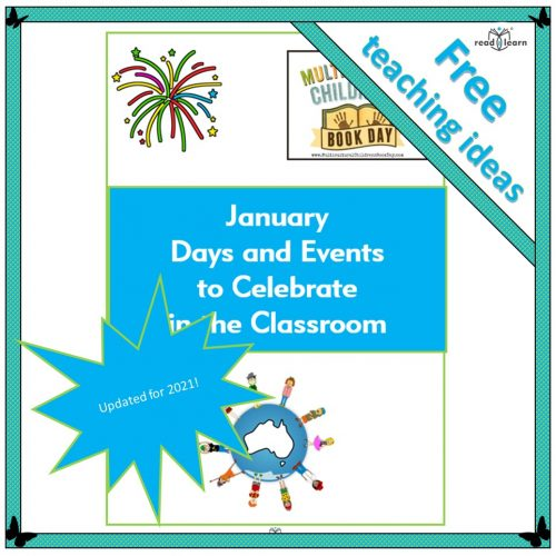 January Days and Events to Celebrate in the Classroom