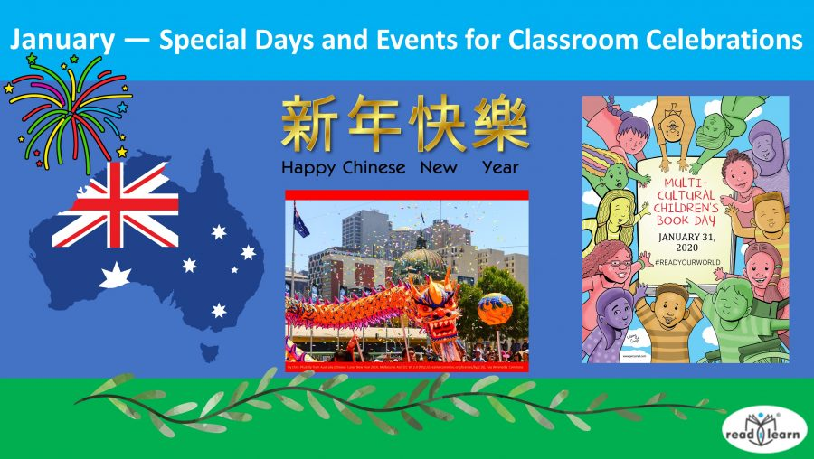 January — Special Days and Events for Classroom Celebrations