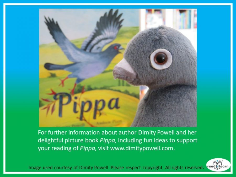 Pippa, a picture book by Dimity Powell